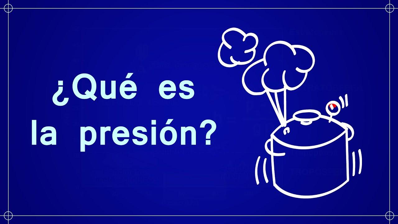 que es presion)