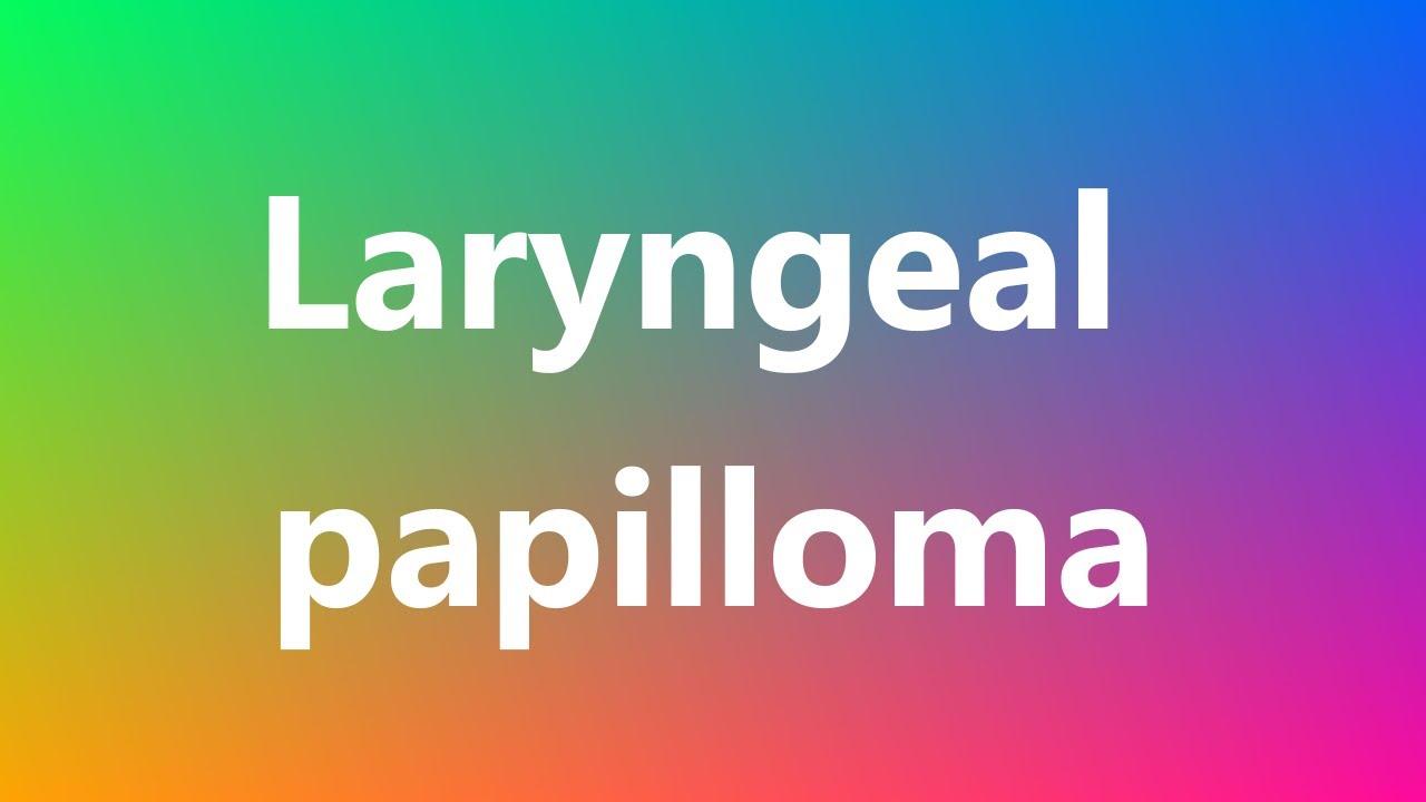 papilloma medical define)