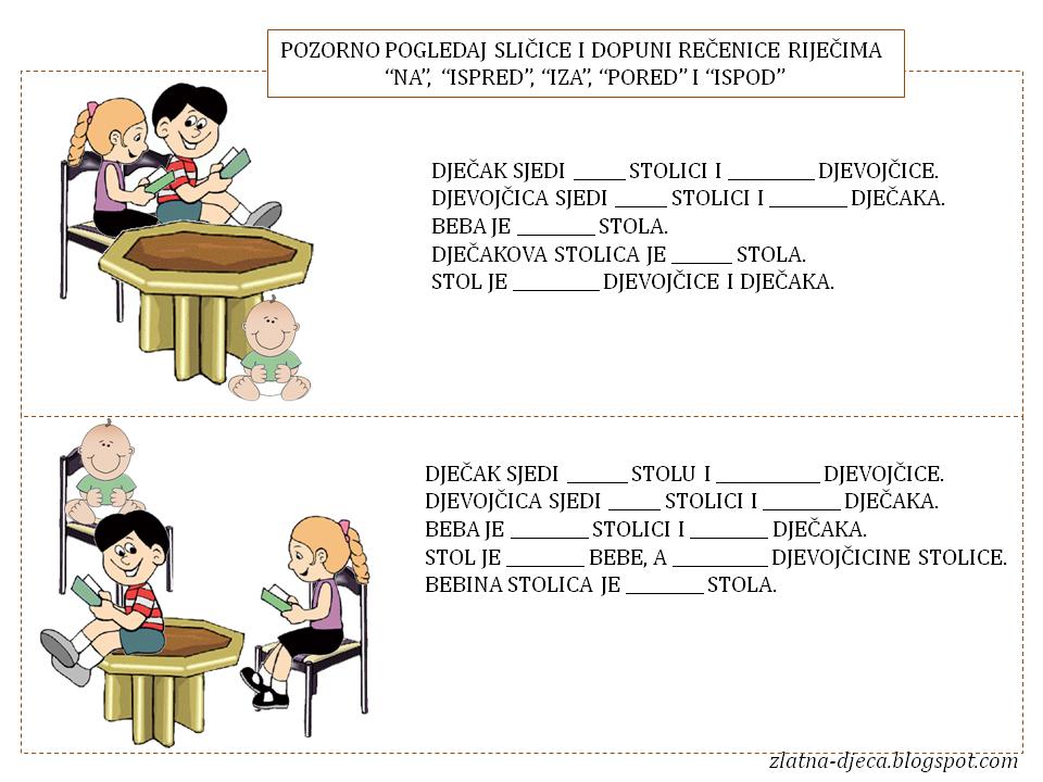 hrvatski jezik padezi testovi