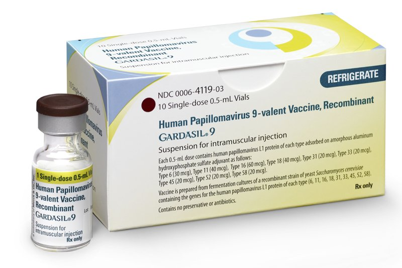 hpv vaccine and brain cancer)