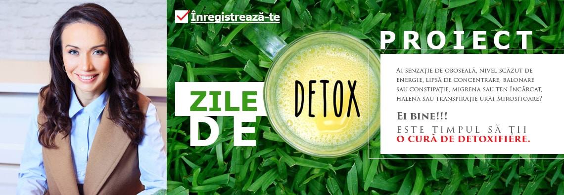 o zi de detoxifiere cu apa)