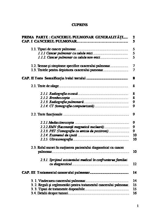 cancer de esofag cu metastaze