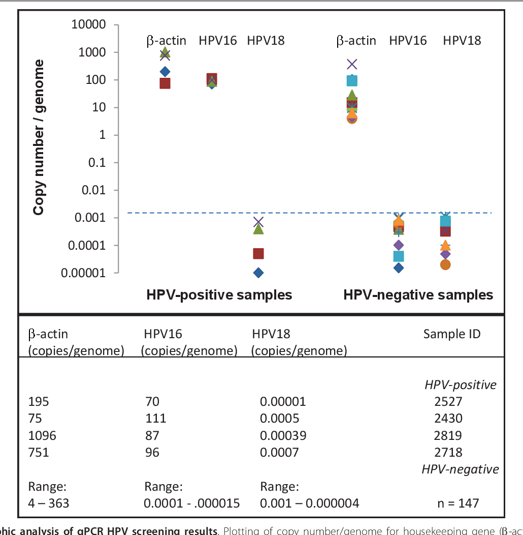 risk human papillomavirus detection