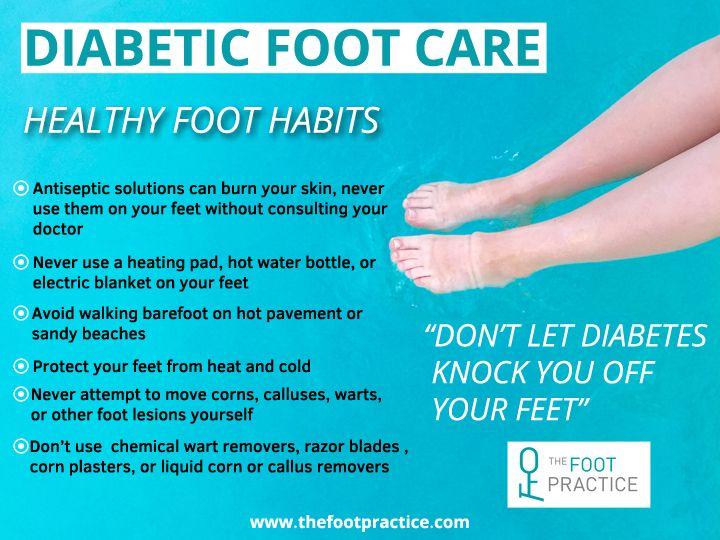 wart treatment diabetes