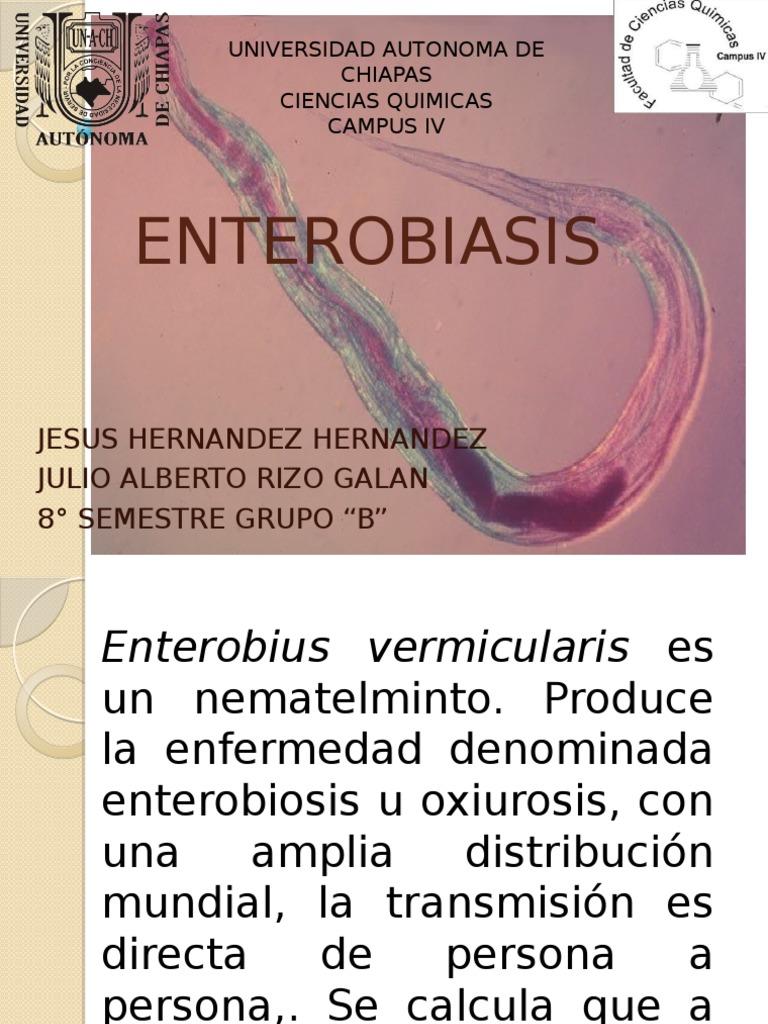 enterobiasis que enfermedad es