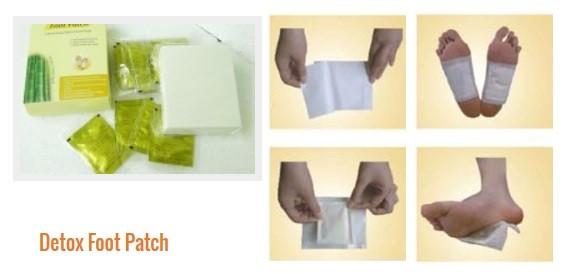 Plasturi pentru detoxifiere talpilor