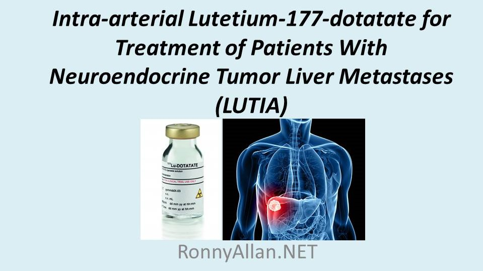 neuroendocrine cancer that has spread to the liver