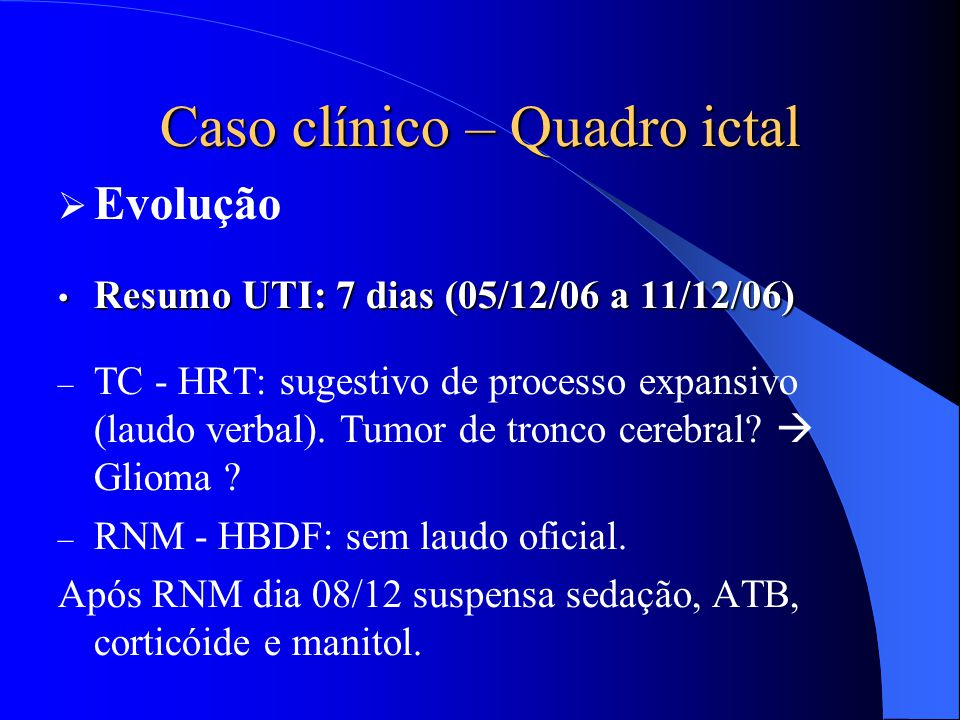 cancer cerebral caso clinico