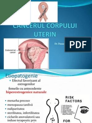 cancer uterin stadiul 2)