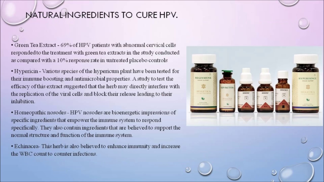 hpv infection removal