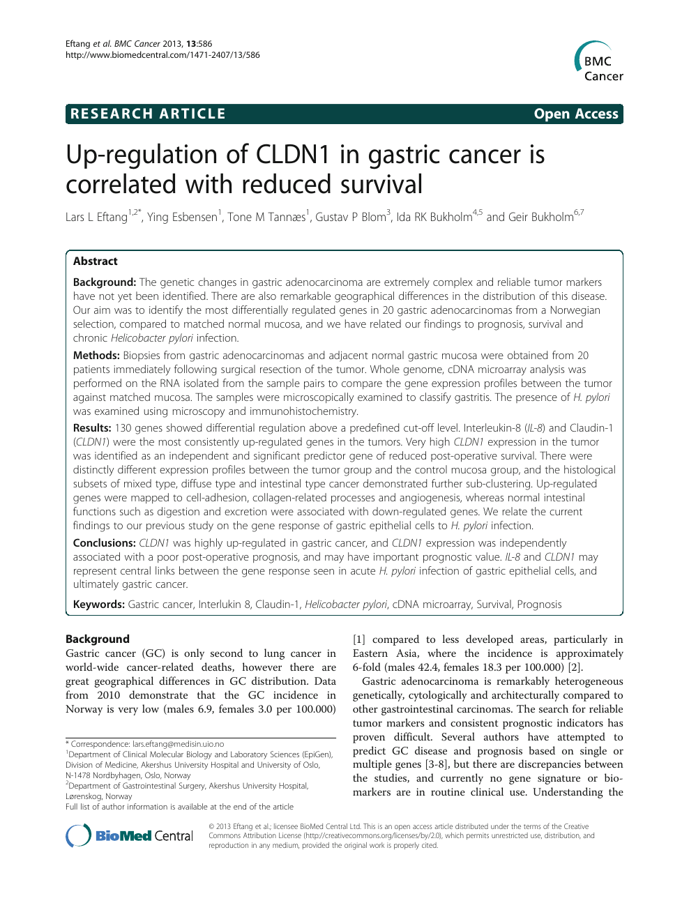 [The importance of anamnesis in the early diagnosis of gastric cancer] - Abstract - Europe PMC