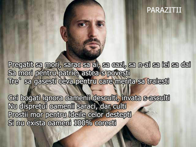 Posts tagged as #parazitii | Picpanzee