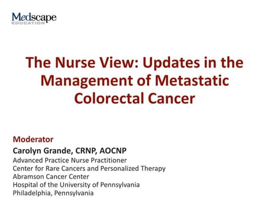 colorectal cancer updates