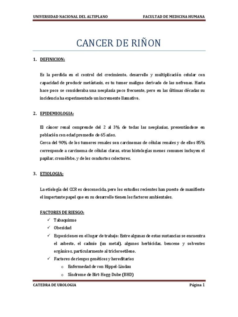 CARCINOM RENAL - semne de alarmă - Servus Expert