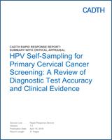 hpv cervical cancer ncbi
