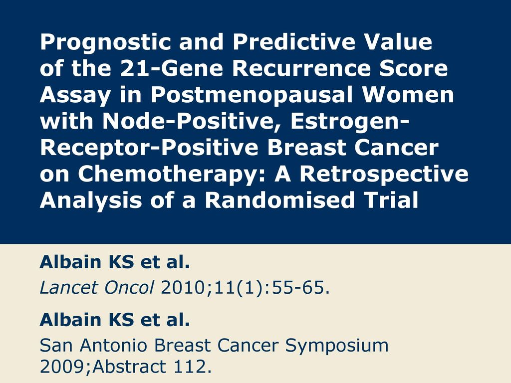 cancer san prognostic
