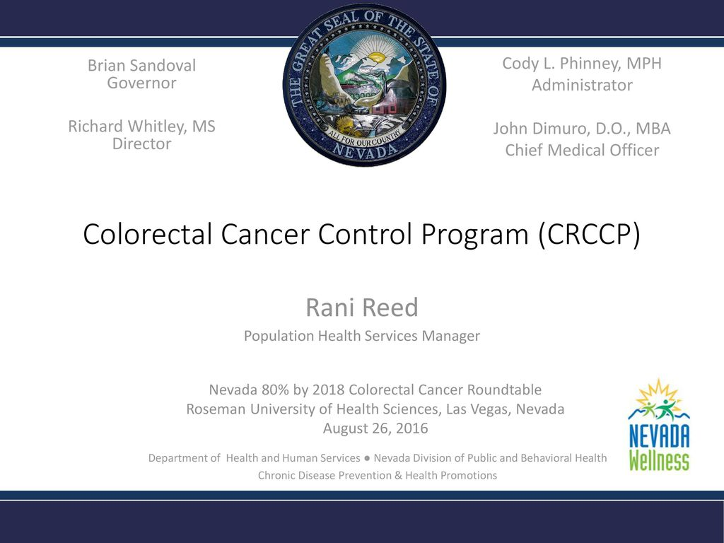 colorectal cancer control program)