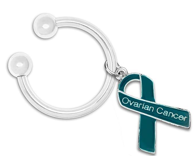 ovarian cancer keychain
