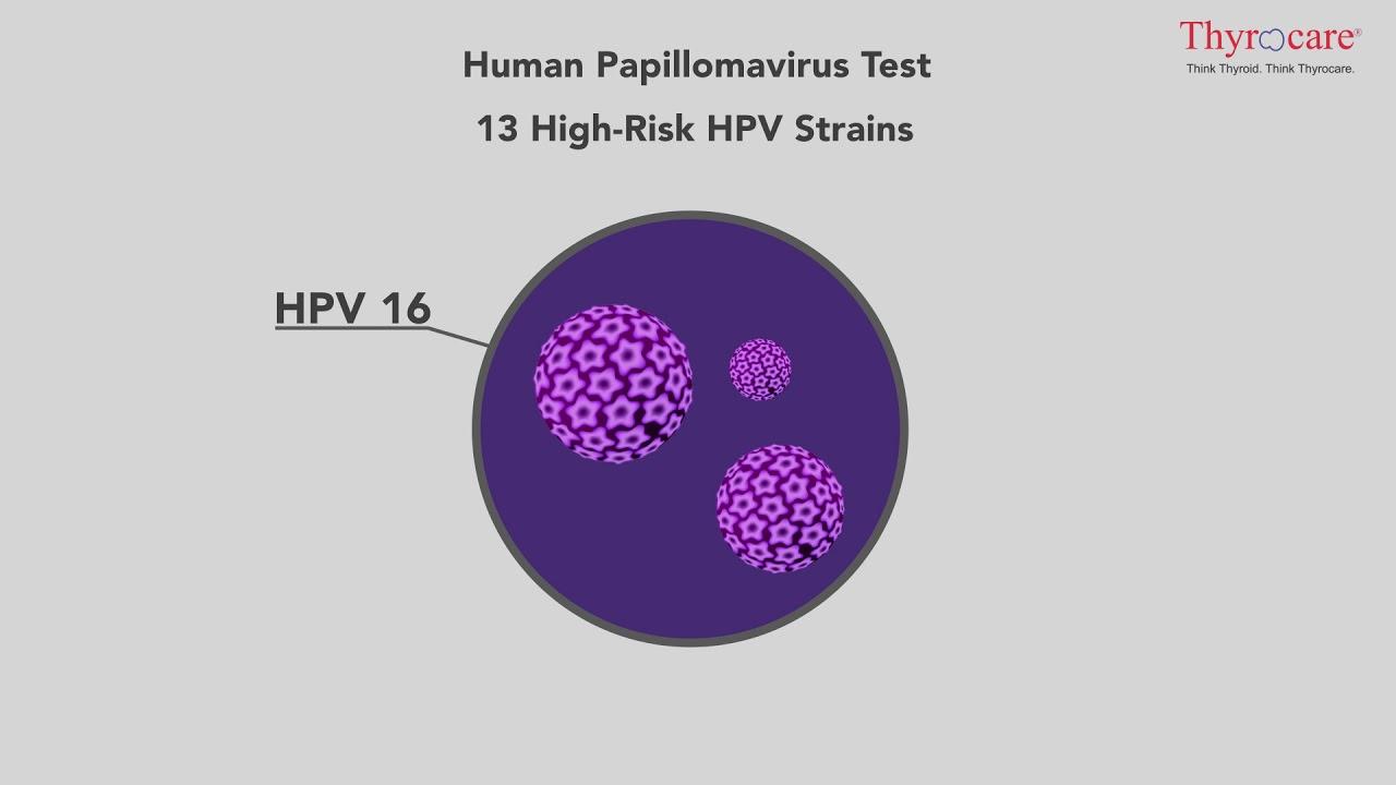 test for papilloma virus)