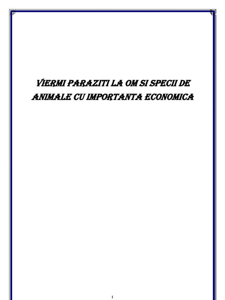 paraziti piele om)