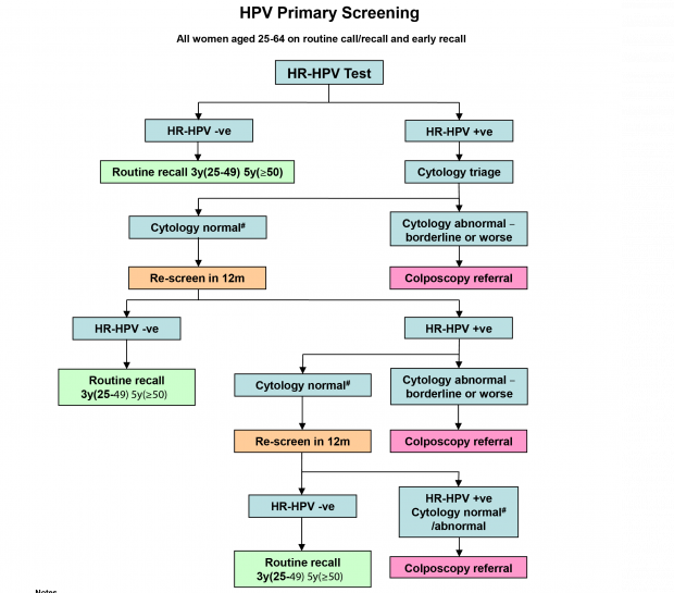 cytology vs hpv testing for cervical cancer screening in the general population hepatic cancer imaging