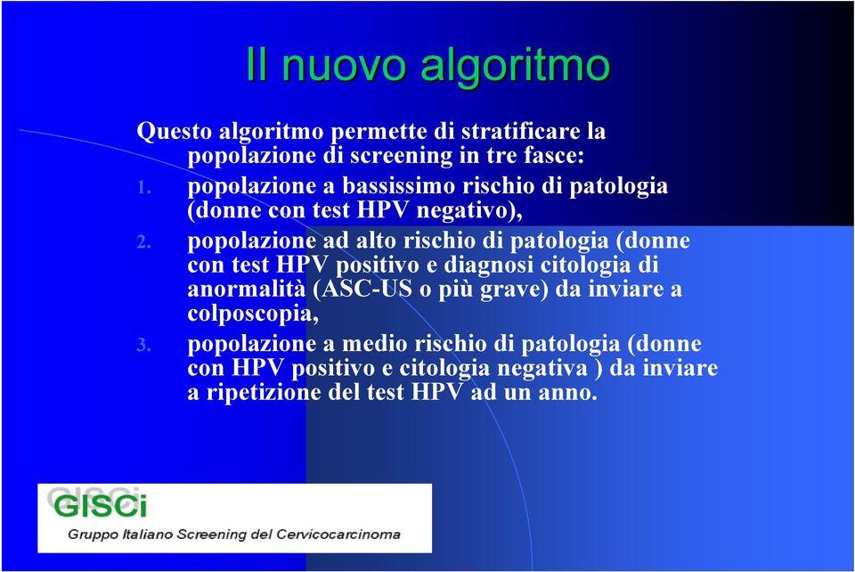 hpv alto rischio negativo)