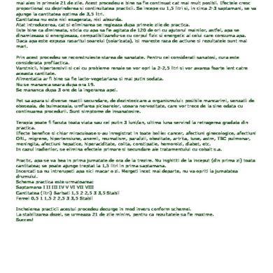 detoxifiere cu sare amara efecte adverse)