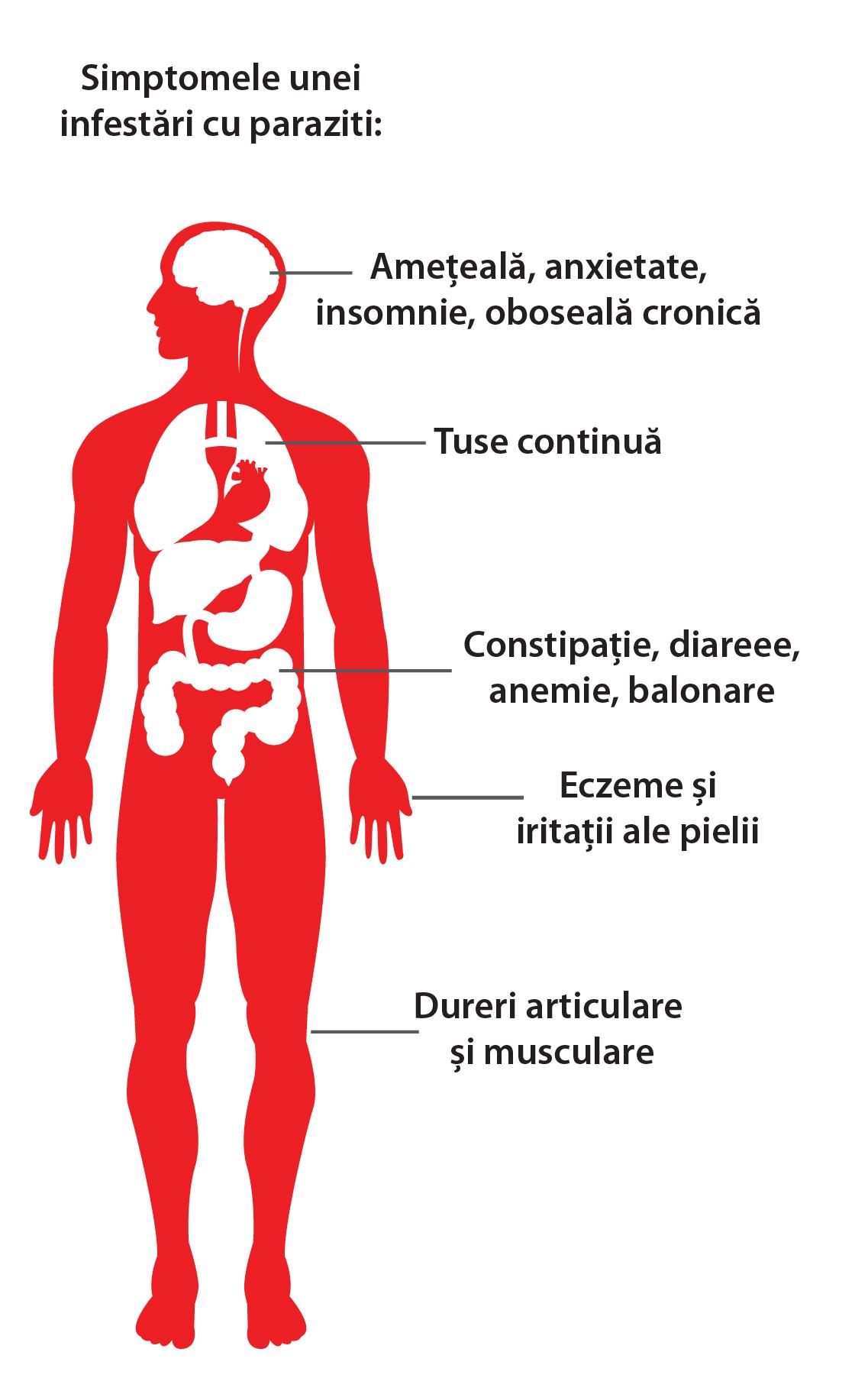 paraziti din corpul omului)
