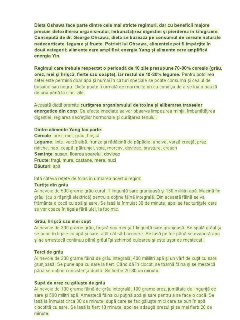 Cură de detoxifiere propusă de un expert în nutriţie - Doctorul zilei