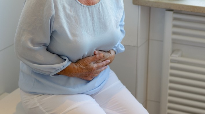 rectal cancer pain sitting