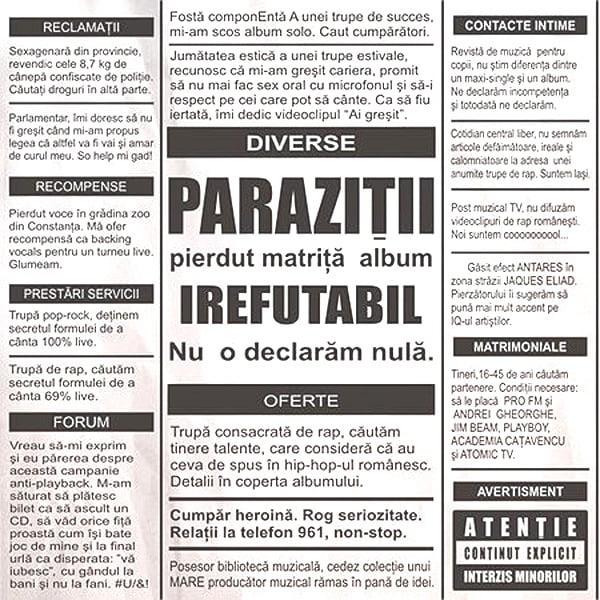 Parazitii - Bad Joke Lyrics | LetsSingIt Lyrics