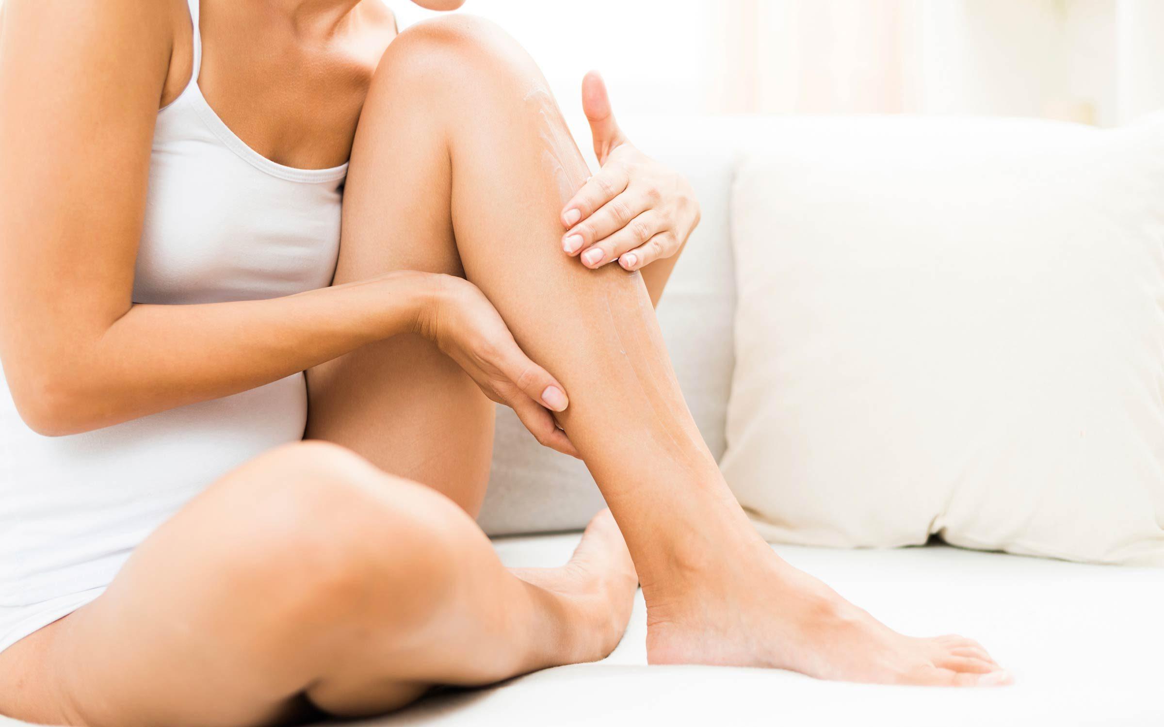cervical cancer leg pain