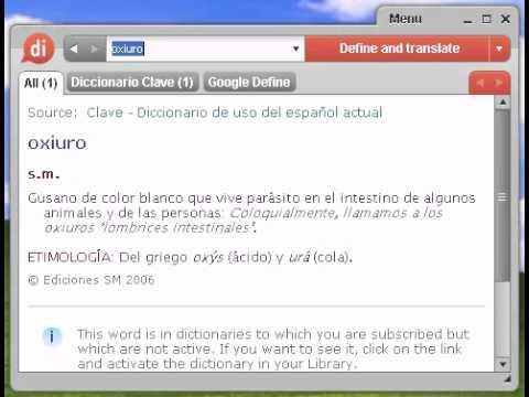oxiuros definicion