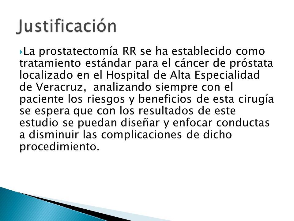 cancer de prostata justificacion)