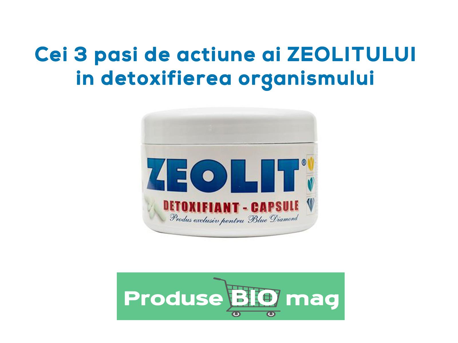 Zeolit mineral detoxifiant - capsule pret promotional