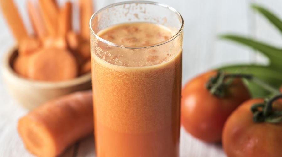 detoxifiere cu suc de morcov)