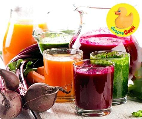 detoxifiere cu sucuri 10 zile)