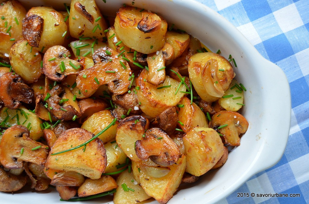 Ciuperci umplute cu legume - reteta de post | De Gen Feminin