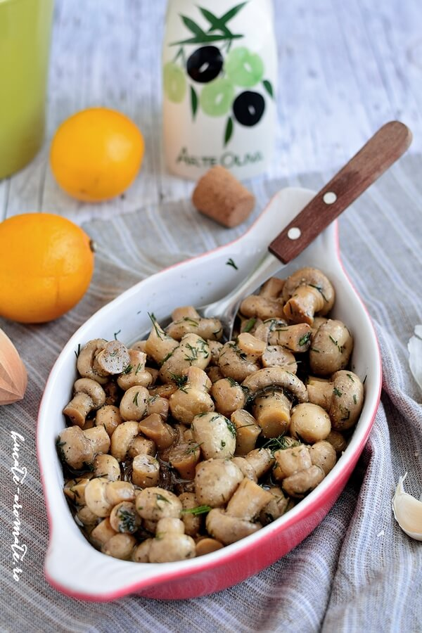 ciuperci garnitura)
