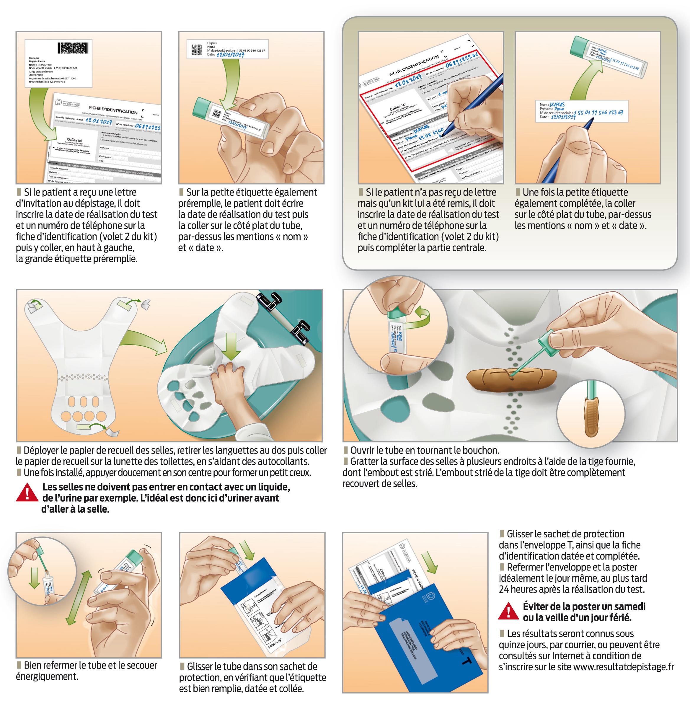 test cancer colorectal en pharmacie