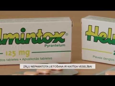 helmintox lietosana)