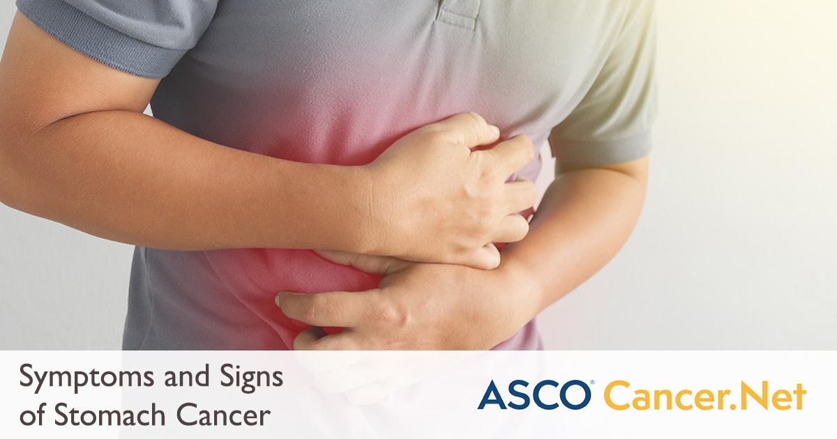 abdominal cancer symptoms male)