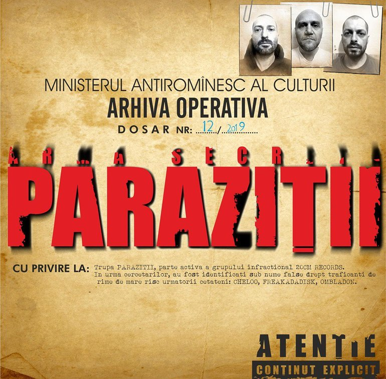 parazitii official website)