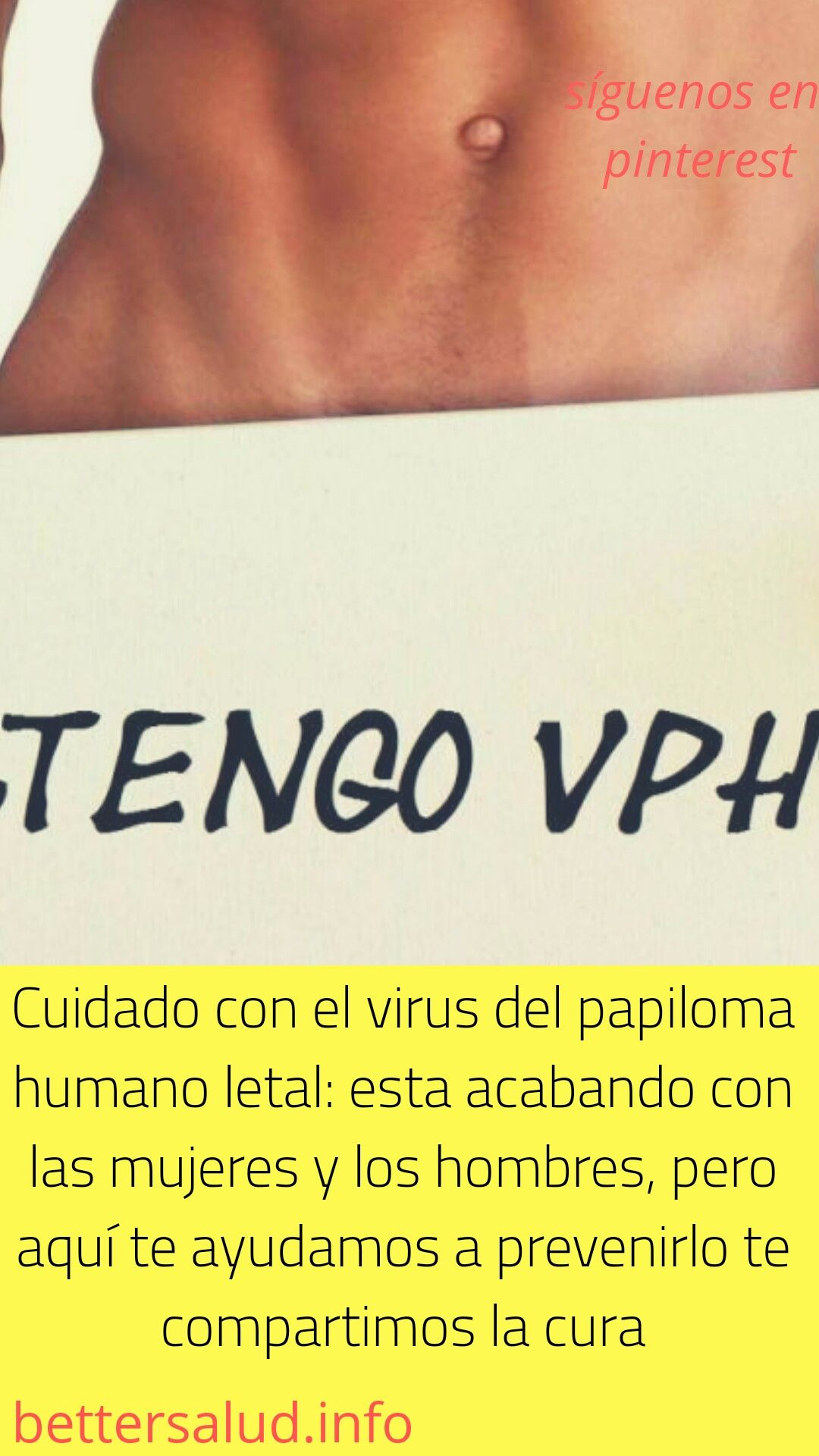 virus papiloma humano hombres cura