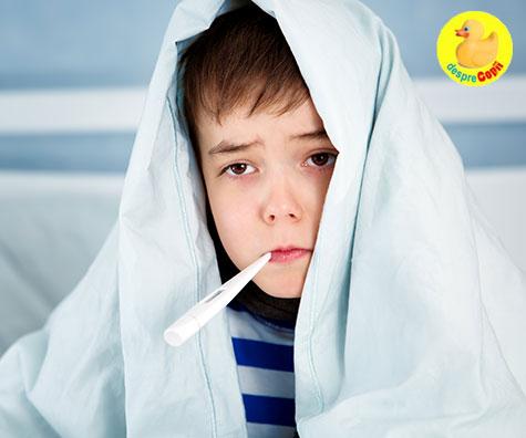 tratament gripa la copii