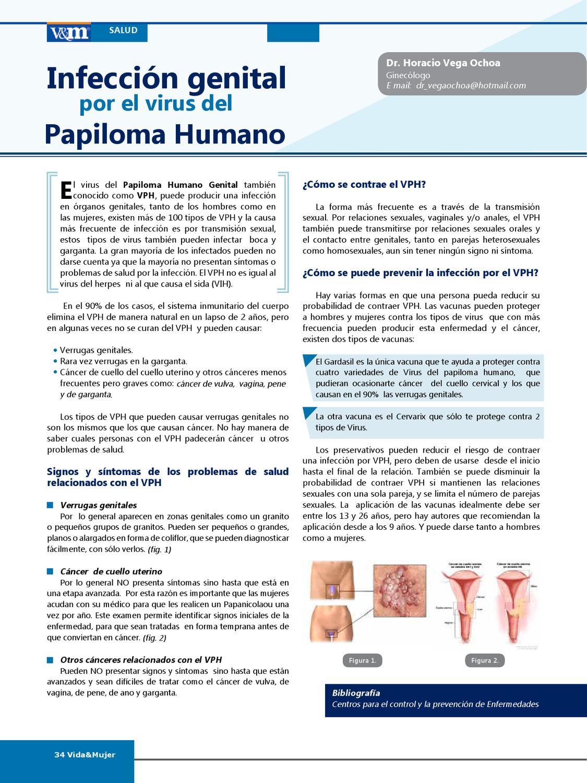 virus papiloma humano signos y sintomas