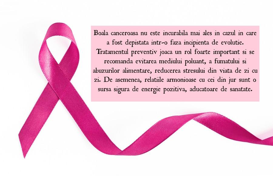 cancerul de san este vindecabil