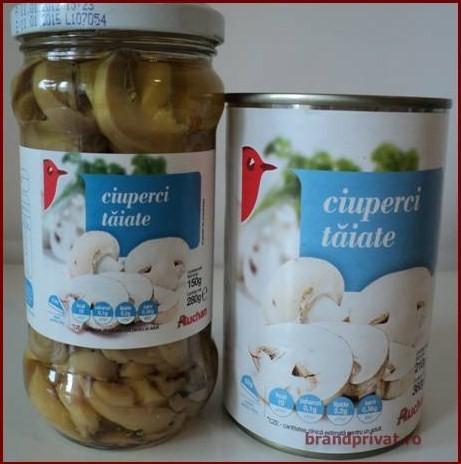 Ciuperci intregi Home Garden ml - Auchan online