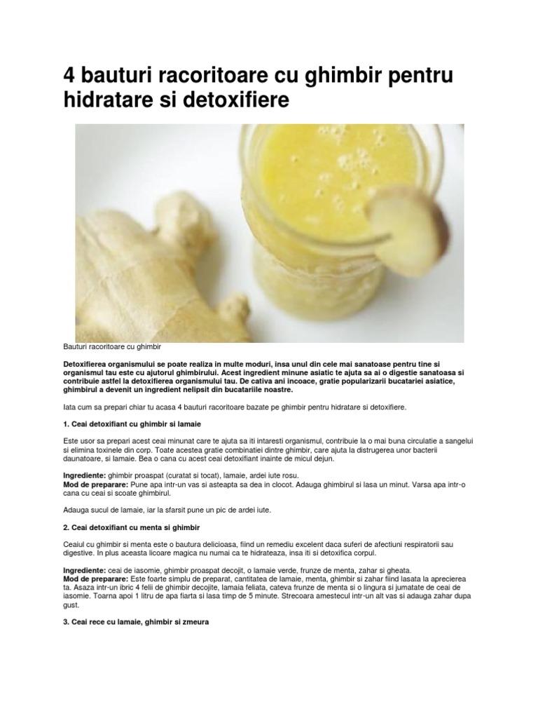 detoxifiere bauturi)