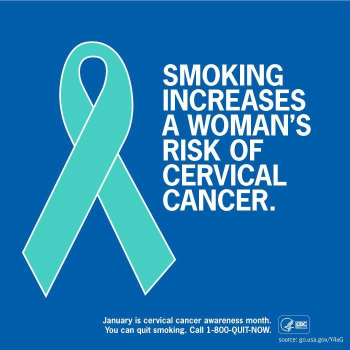 cervical cancer and smoking)